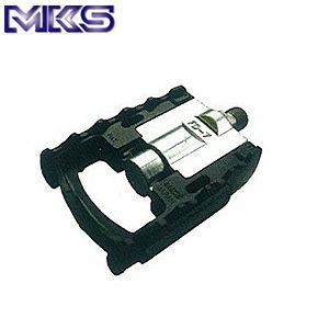 【在庫あり】ミカシマ(MKS)FD-7 折りたたみペダル (ブラック)|gottsu