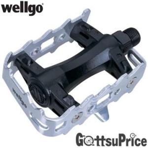 【あすつく】Wellgo ウェルゴ LU-C9 自転車フラットペダル 自転車パーツ ペダル  ge1212|gottsu