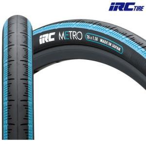 IRC(アイアールシー)メトロ HE26×1.50 タイヤ  (スカイブルー)|gottsu