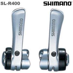 【在庫あり】SHIMANO(シマノ)SL-R400 2/3X8スピード ダウンチューブ用シフトレバー ISLR400F gottsu