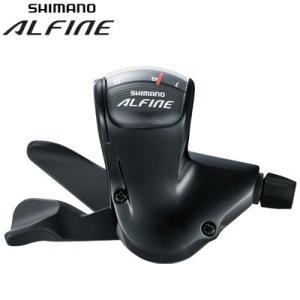 SHIMANO(シマノ) ALFINE SL-S503-L 8スピード シフトレバー (ブラック) ESLS503210LLL gottsu