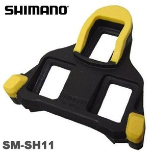 【送料無料】SHIMANO(シマノ) SM-SH11 SPD-SLクリート セット フローティングモード(黄) gottsu