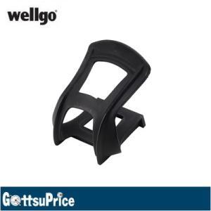 Wellgo(ウェルゴ) MT-10 MTBハーフクリップ ブラック