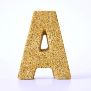 すなもじ 「A」 40g×1個 モルタルマジック 砂 置物 オブジェ 砂像 他のメーカー商品との同梱不可 代引不可|gottuou-tottori