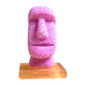 モアイタイル25 パープル色 15g×1個 モルタルマジック 砂 置物 オブジェ 砂像 他のメーカー商品との同梱不可 代引不可|gottuou-tottori