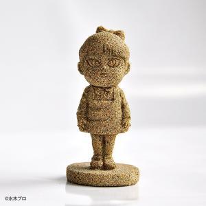 妖怪砂フィギュア ねこ娘 77g×1個 モルタルマジック 砂 置物 オブジェ 砂像 他のメーカー商品との同梱不可 代引不可|gottuou-tottori