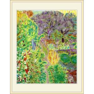 複製画・額縁付き・ボナール・「Garden」