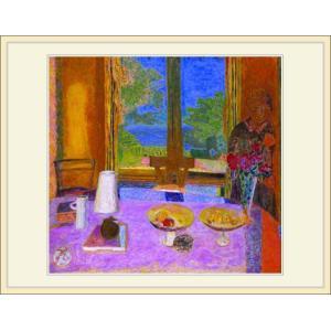 複製画・額縁付き・ボナール・「Large dinning table」|goupil|02