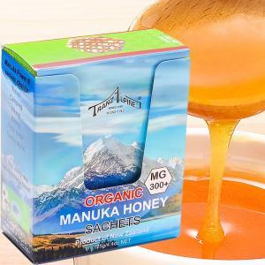 オーガニックマヌカハニー・サシェ・Mg300+(1箱・5g×25個)|gourmet-no-ousama