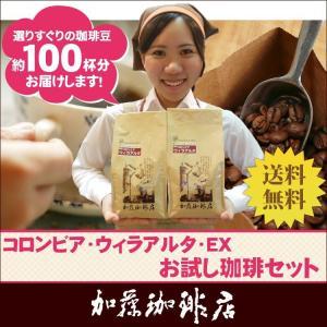 [1kg]コロンビア・ウィラアルタEX特別珈琲セット(ウィラEX×2)/珈琲豆 gourmetcoffee