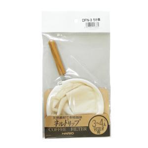 ウッドネックネルフィルターDFN-3/ハリオ(HARIO)|gourmetcoffee