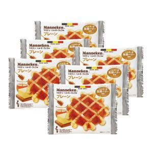 (6個)マネケンワッフル/プレーン|gourmetcoffee