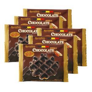 チョコレート マネケンワッフル 6個 高温焙煎 カカオマス 加藤珈琲|gourmetcoffee