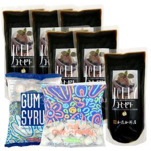 ちょっと贅沢な珈琲専門店のコーヒーゼリー【6袋】お買い得セット[フレッシュ・シロップ付]|gourmetcoffee