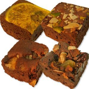 ホシフルーツ/ナッツとドライフルーツの贅沢ブラウニー6個セット|gourmetcoffee