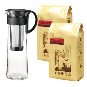 美味しい水出しコーヒーが作れる珈琲(コーヒー)福袋[ヨーロ×2・メジャースプーン]/珈琲豆|gourmetcoffee
