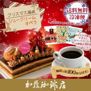 (オペラ)クリスマスケーキ福袋(オペラ・鯱・クリス・XmasDB10P)|gourmetcoffee