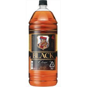 ブラックニッカ クリアブレンド 4L 4000ml×4本 ペットボトル ニッカウイスキー 送料無料 ...