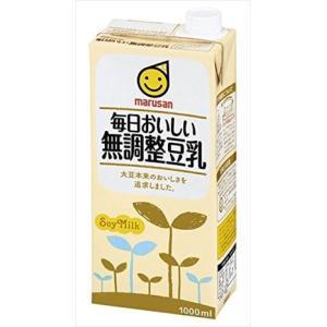種類 豆乳・大豆飲料 容量 1000ml × 6本  メーカー マルサンアイ 販売者 マルサンアイ ...