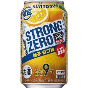 サントリー-196℃ ストロングゼロ 柚子ダブル チューハイ 350ml×24本|goyougura-okawa