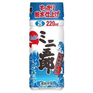 焼酎ミニ五郎 25度 220ml ペット 甲類 アサヒビール|goyougura-okawa