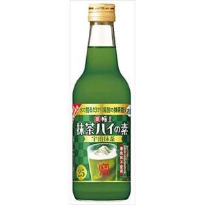 宝酒造 極上抹茶ハイの素 宇治抹茶 瓶 360ml|goyougura-okawa