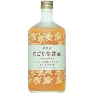 永昌源 にごり杏露酒 720ml|goyougura-okawa