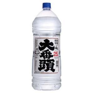 甲類焼酎 大番頭 25度 4000ml 4Lペット ヤエガキ酒造|goyougura-okawa