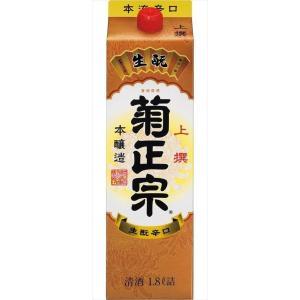 上撰 菊正宗 パック 15度 1800ml 1.8L 本醸造酒 兵庫 菊正宗酒造 goyougura-okawa