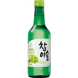 眞露 チャミスル マスカット 焼酎 13度 360ml|goyougura-okawa