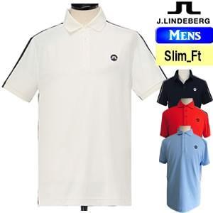 ジェイリンドバーグ J.LINDEBERG リバース3D切替アイコニック半袖ポロシャツ メンズ 2018モデル 全4色(柄・無地) S-L(スリムーフィット) 071-27446|gp-store