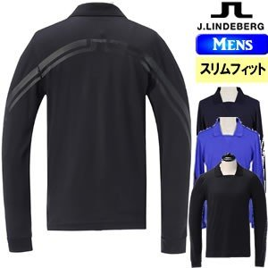 ジェイリンドバーグ J.LINDEBERG バックブリッジジップセーター ExMerino×CoolMax/Back_Bridge メンズ 2018モデル 全2色 S-L(スマートフィット) 071-18910|gp-store