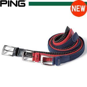 ピンアパレル PING apparel エラスティックメッシュベルト 32355 gp-store