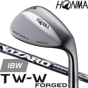 ホンマ 本間 ツアーワールド HONMA TOUR WORLD TW-W FORGED ウェッジ 【VIZARD IBW カーボンシャフト】 ※2017年モデル|gp-store