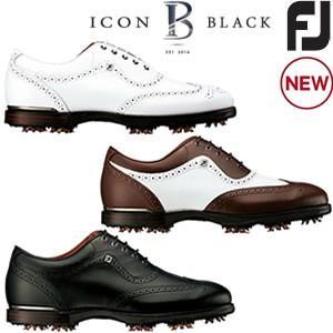 フットジョイ FOOTJOY  FJアイコンブラック FJ ICON Black ゴルフシューズ gp-store