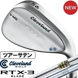 クリーブランド Cleveland RTX-3 BLADE ツアーサテン ウエッジ DG&NS950GHスチールシャフト|gp-store