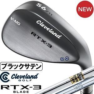 クリーブランド Cleveland RTX-3 BLADE ブラックサテン ウエッジ DG&NS950GHスチールシャフト|gp-store