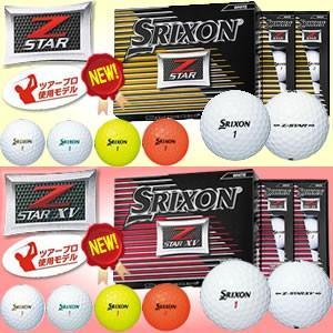 ダンロップ DUNLOP NEW スリクソン SRIXON Z-STAR/Z-STAR-XV ゴルフ ボール 【1ダース(12個入り)】 gp-store