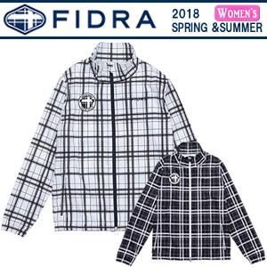 フィドラ FIDRA フィドラチェックジップジャケット 2018春夏 レディース 全2色 S-L FDA0501 gp-store