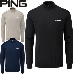ピン PING ゴルフウェア ハーフジップセーター クーパー-J2  2019秋冬 メンズ 全3色 S-XL 34881|gp-store