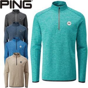 ピン PING ゴルフウェア ハーフジッププルオーバー ELDEN-J 2019秋冬 メンズ 全5色 S-XL 34882|gp-store