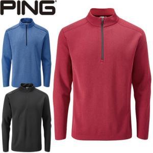 ピン PING ゴルフウェア フリースハーフジッププルオーバー RAMSEY 2019秋冬 メンズ 全3色 S-XL P03356|gp-store