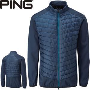ピン PING ゴルフウェア ノースプリマロフトゾーンジャケット JACKET 2019秋冬 メンズ S-XL オックスフォードブルー P03375|gp-store