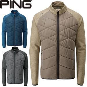 ピン PING ゴルフウェア ストレッチフリースキルティングジャケット BREAKER 2019秋冬 メンズ 全3色 S-XL P03378|gp-store