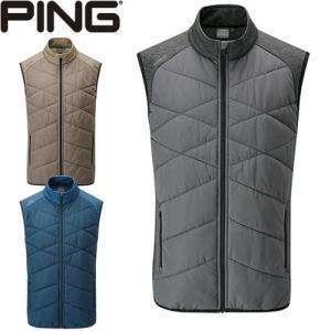 ピン PING ゴルフウェア キルティングブレーカーベスト BREAKER VEST 2019秋冬 メンズ 全3色 S-XL P03379|gp-store