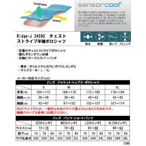 SALE!ピンアパレル PING チェストストライプ半袖ポロシャツ Ridge-J メンズ 全3色 S-XL 34590|gp-store|03