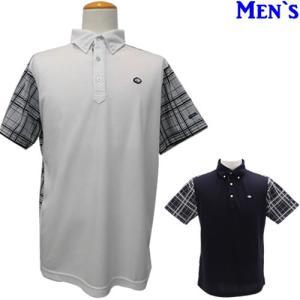 フィドラ FIDRAチェック柄ボタンダウン半袖ポロシャツ 2019春夏 M-XXL 全2色 FI51TG02|gp-store