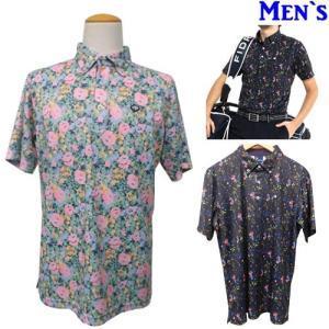 フィドラ FIDRA フラワー半袖ボタンダウンポロシャツ メンズ 2019春夏 M-XXL 全2色 FI51TG06|gp-store