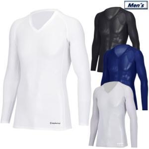 アプルラインド applerind Vネックロングスリーブインナー メンズアンダーウエア V-Neck Underwear 2019春夏 M-XL 全4色 JS1142|gp-store