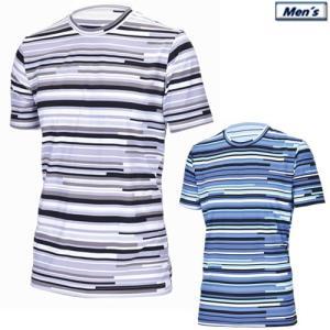 アプルラインド applerind ボーダー柄クルーネックTシャツ メンズアンダーウエア Crew-Neck T-Shirt 2019春夏 M-XL 全2色 JS1153|gp-store